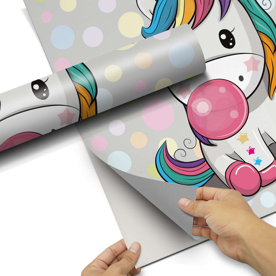 Dekorfolie Rainbow das Einhorn - Do-it-yourself - creatisto