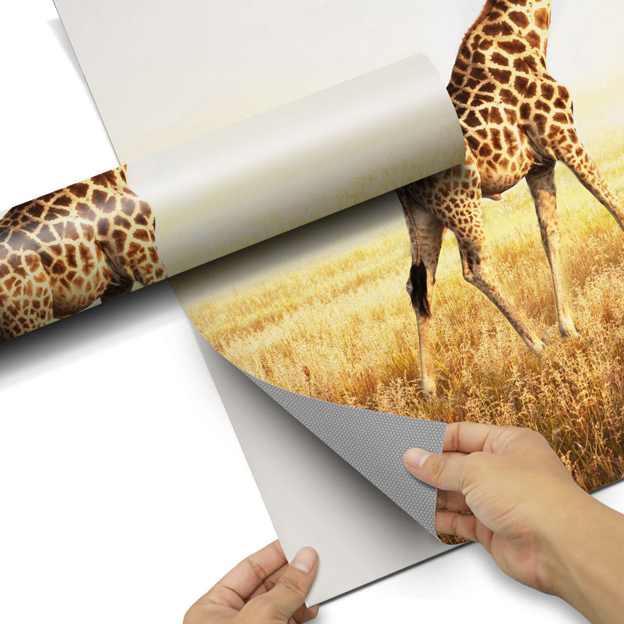 Dekorfolie Savanna Giraffe - Do-it-yourself - creatisto