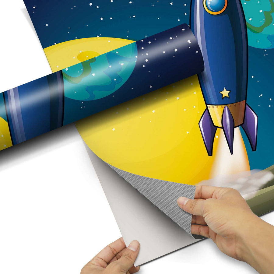 Dekorfolie Space Rocket - Do-it-yourself - creatisto
