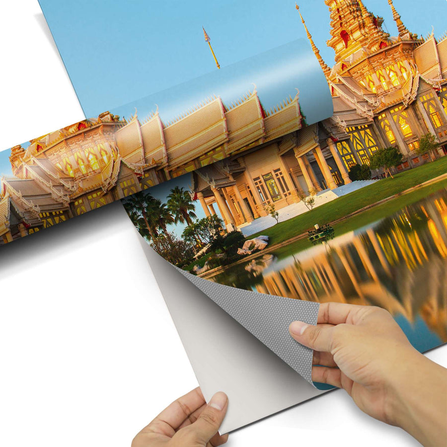 Dekorfolie Thailand Temple - Do-it-yourself - creatisto