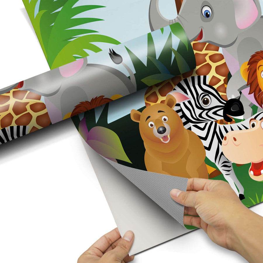 Dekorfolie Wild Animals - Do-it-yourself - creatisto