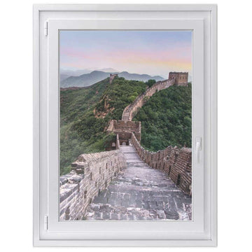 Fensterfolie [hoch] -The Great Wall- Größe: 70x100 cm