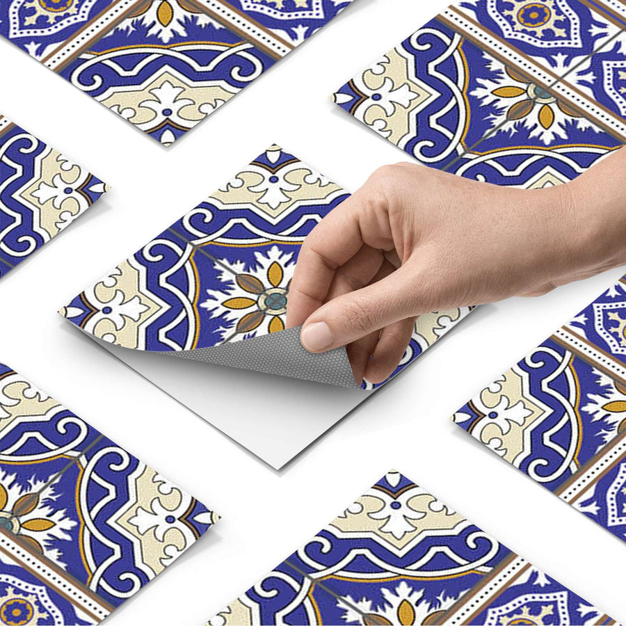 Fliesenfolie - Arabic Tiles - Do-it-yourself - creatisto