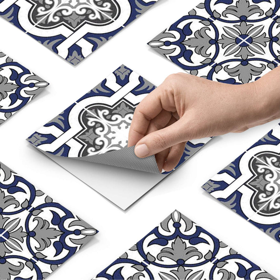 Fliesenfolie - Azulejo Classic - Do-it-yourself - creatisto