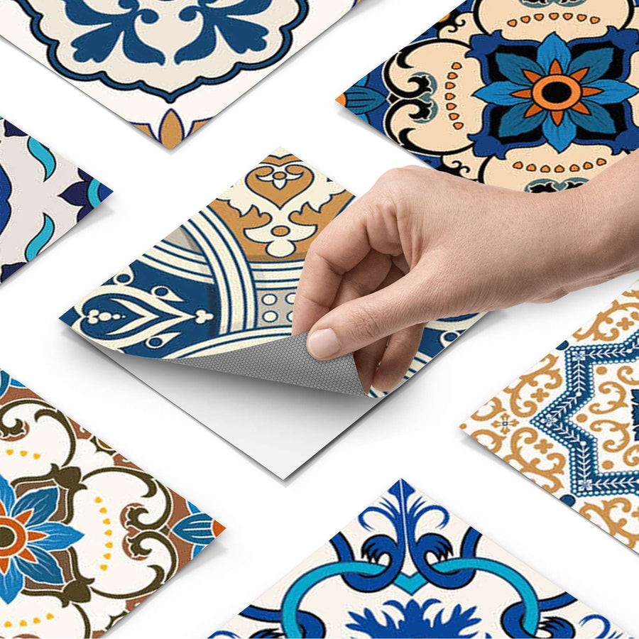 Fliesenfolie - Lisboa Azulejos - Do-it-yourself - creatisto