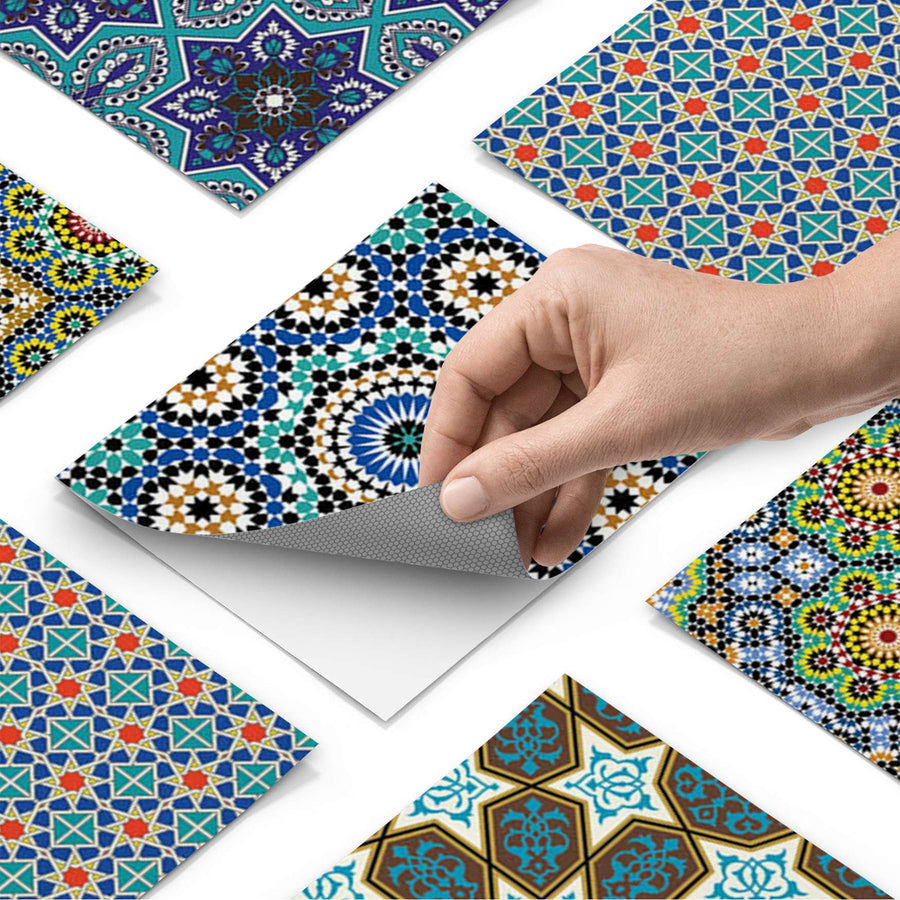Fliesenfolie - Orientalisches Mosaik - Do-it-yourself - creatisto