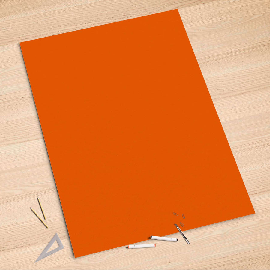 Folienbogen Orange Dark - 100x150 cm