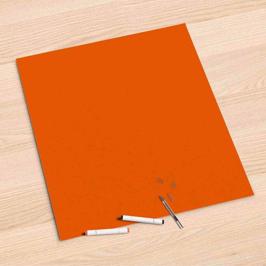 Folienbogen Orange Dark - 60x60 cm