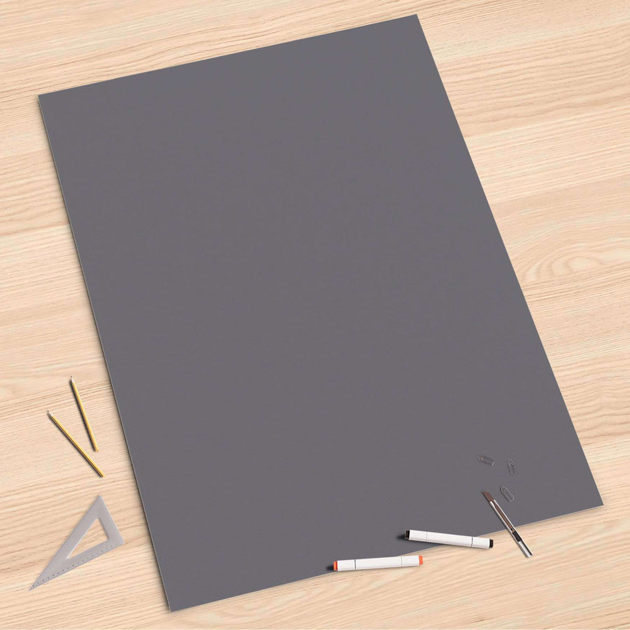 Folienbogen Grau Light - 80x120 cm