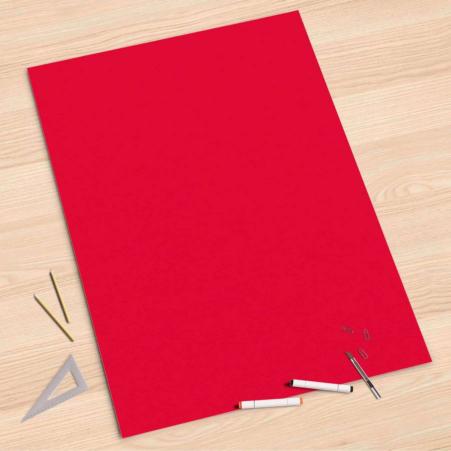 Folienbogen Rot Light - 80x120 cm