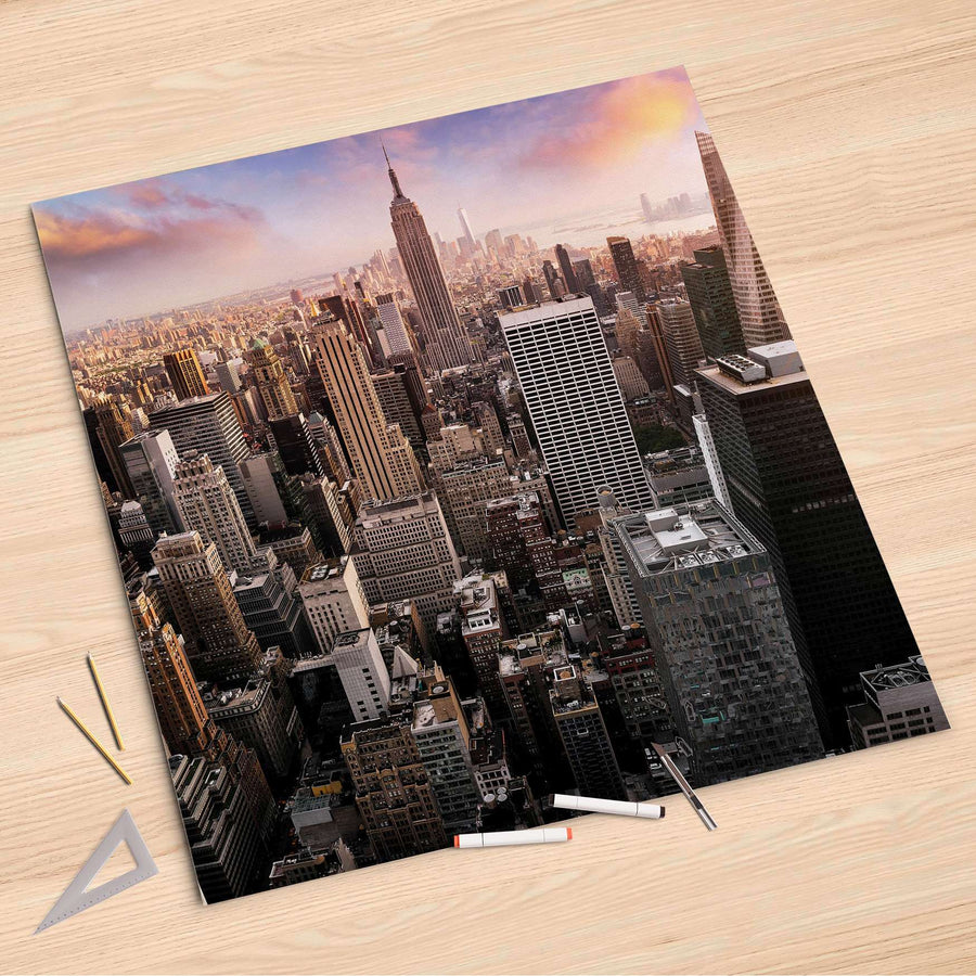 Folienbogen Big Apple - 90x90 cm