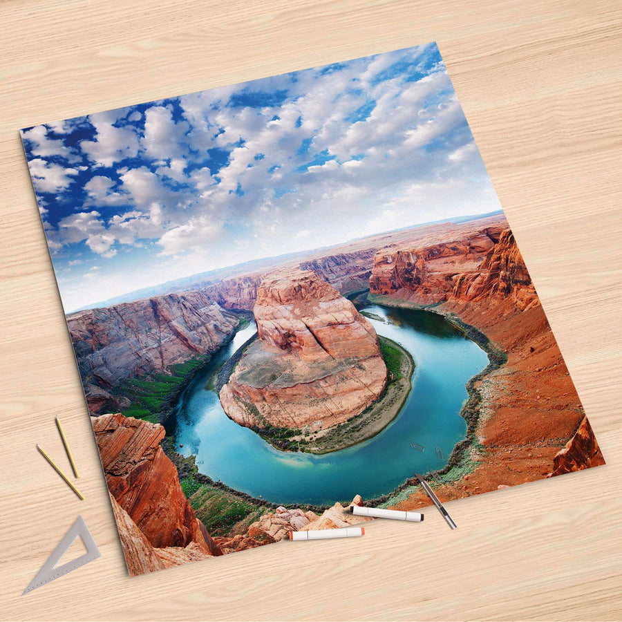 Folienbogen Grand Canyon - 90x90 cm