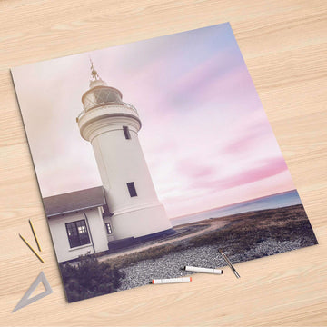 Folienbogen Lighthouse - 90x90 cm