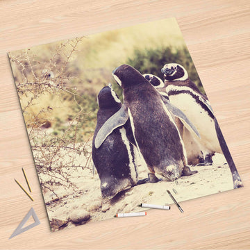 Folienbogen Pingu Friendship - 90x90 cm