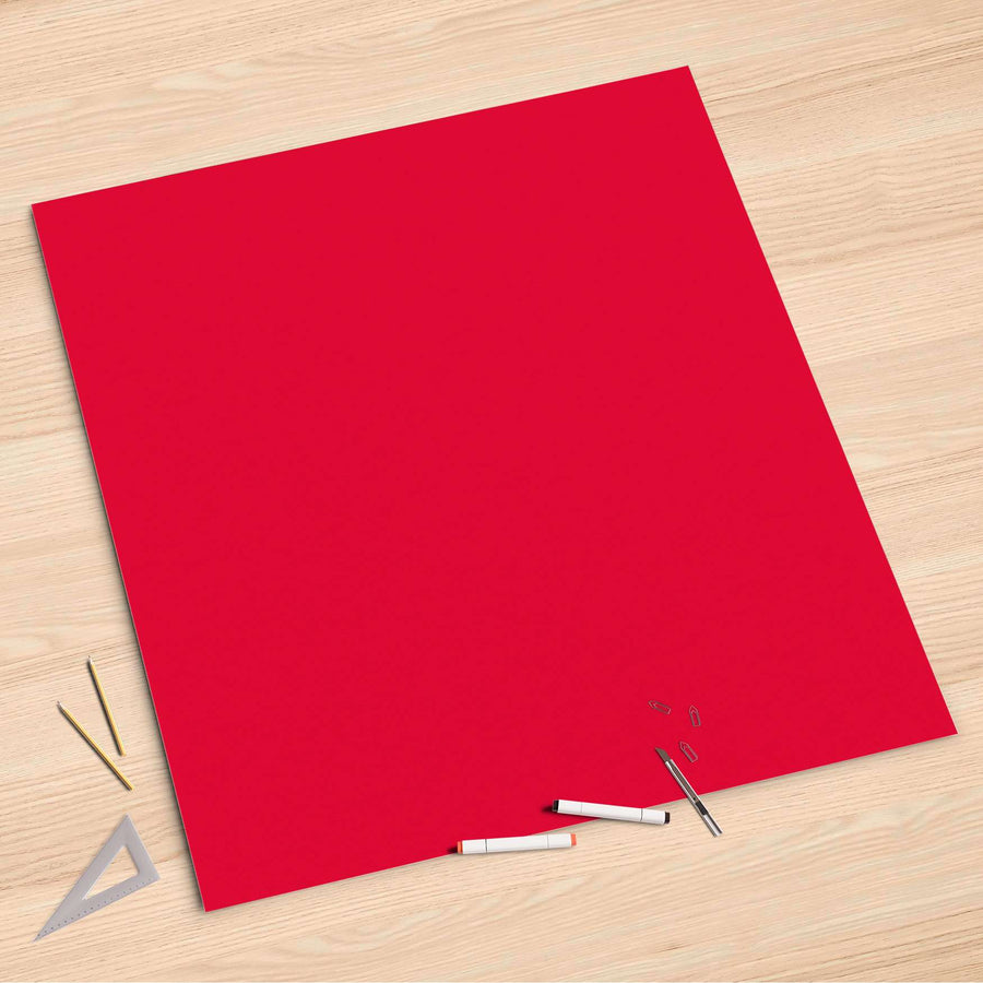 Folienbogen Rot Light - 90x90 cm