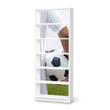 Klebefolie Footballmania - IKEA Billy Regal 6 Fächer - weiss