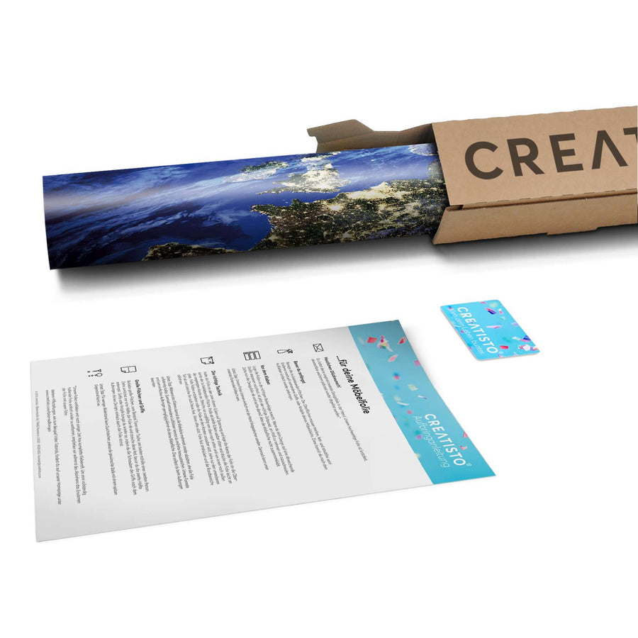 Klebefolie Earth View - Paket - creatisto
