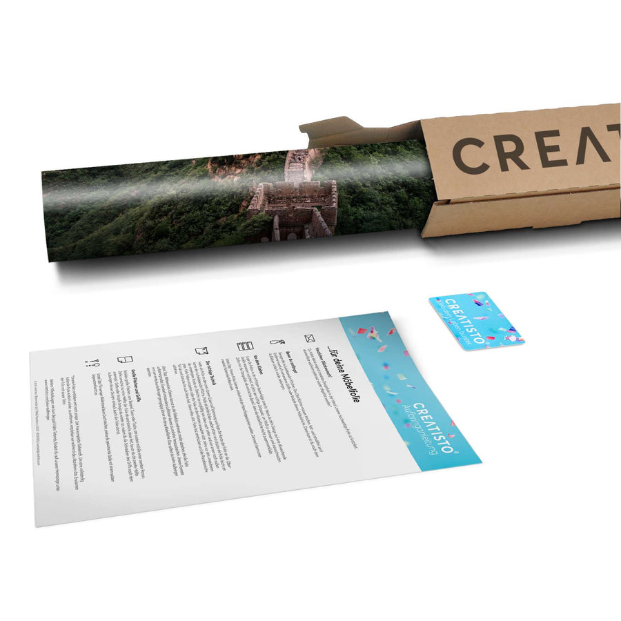 Klebefolie The Great Wall - Paket - creatisto