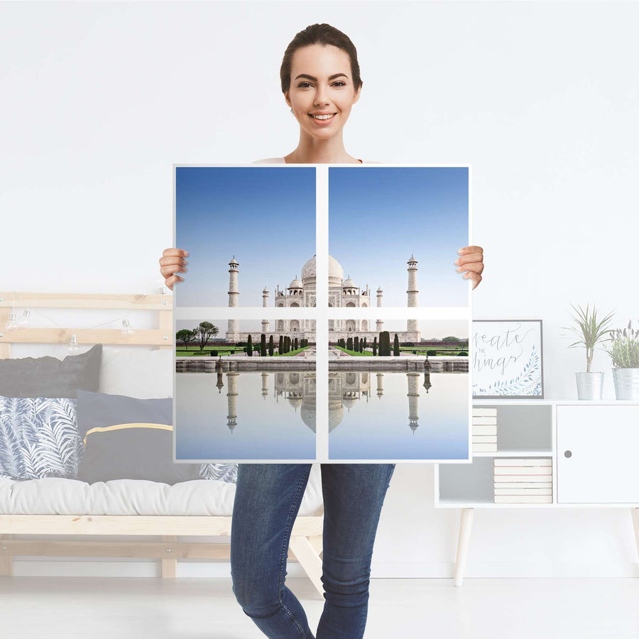 Möbelfolie Taj Mahal - IKEA Expedit Regal 4 Türen - Folie