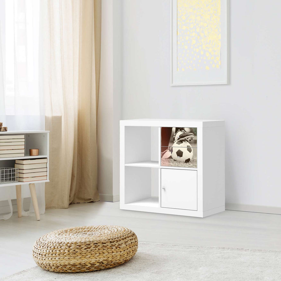 Möbelfolie IKEA Kick it - IKEA Expedit Regal Schubladen - Kinderzimmer