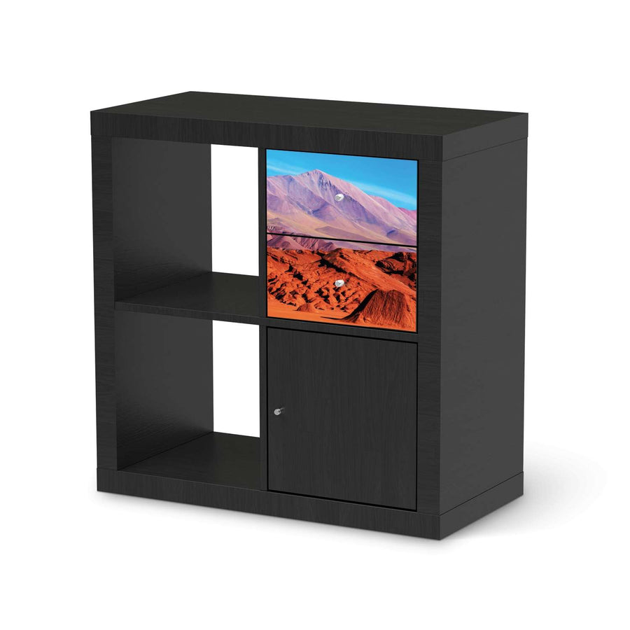 Möbelfolie IKEA Arizona - IKEA Expedit Regal Schubladen - schwarz