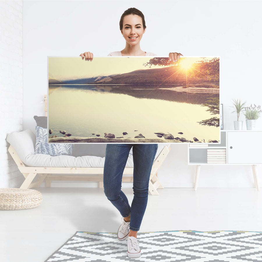 Tischfolie Seaside Dreams - Tisch 120x60 cm - Folie