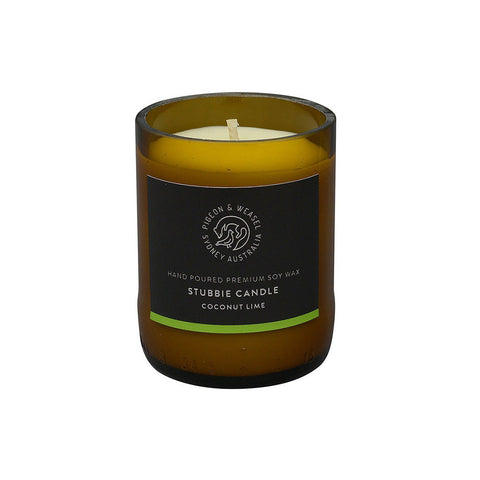 Coconut Lime Stubbie Candle