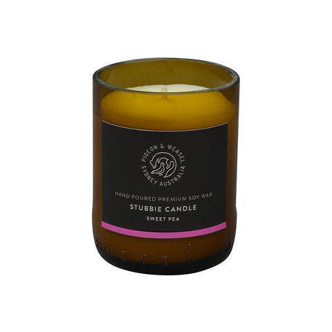 Sweet Pea Stubbie Candle