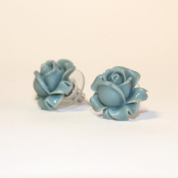 Bleu Rose Earrings