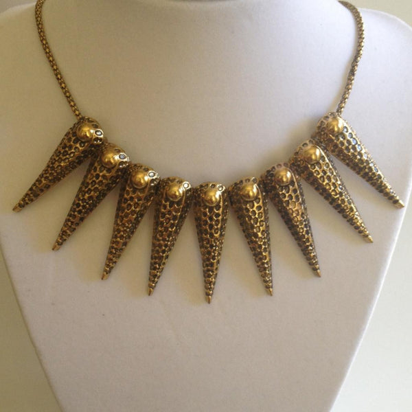 Punk Rivet Collar Necklace