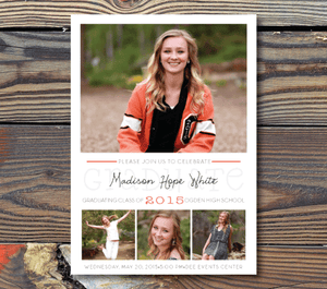 Graduation Announcements-Pure Class