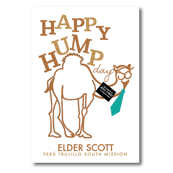 Poster-Happy Hump Day!