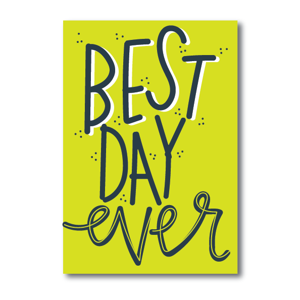 Poster-Best Day Ever