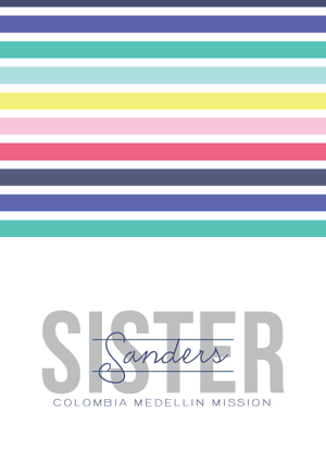 Notecards-Called to Serve(Sister)