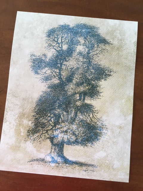 Art Prints - Farm Living Art Collection - Tree #2