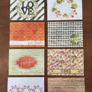 Notecards-Give Thanks Pack