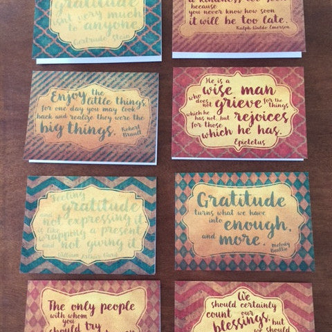Notecards-Grateful Pack