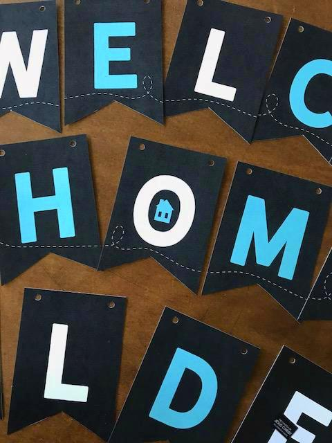 Missionary Bunting-Welcome Home