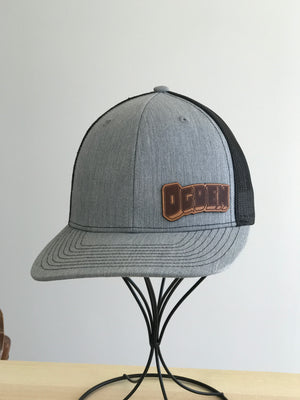 Ogden Leather Patch Hat