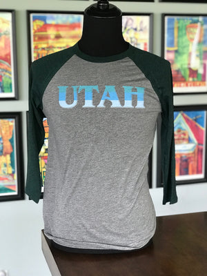Utah North Baseball Tee