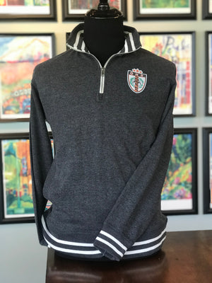 OHS Soccer Shield Relay Fleece Quarter-Zip Sweatshirt