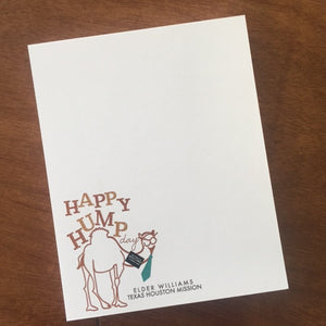 Notecards-Happy Hump Day!