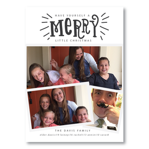 Holiday Card-Merry Little Christmas