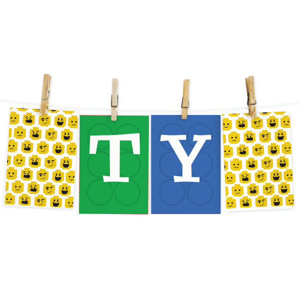 Bunting Banners-Lego