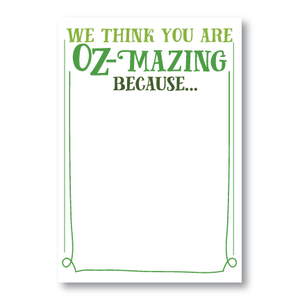Posters-Oz-Mazing Teachers