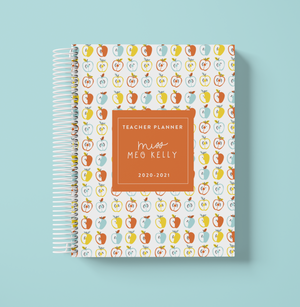 Teacher Planner-Apples