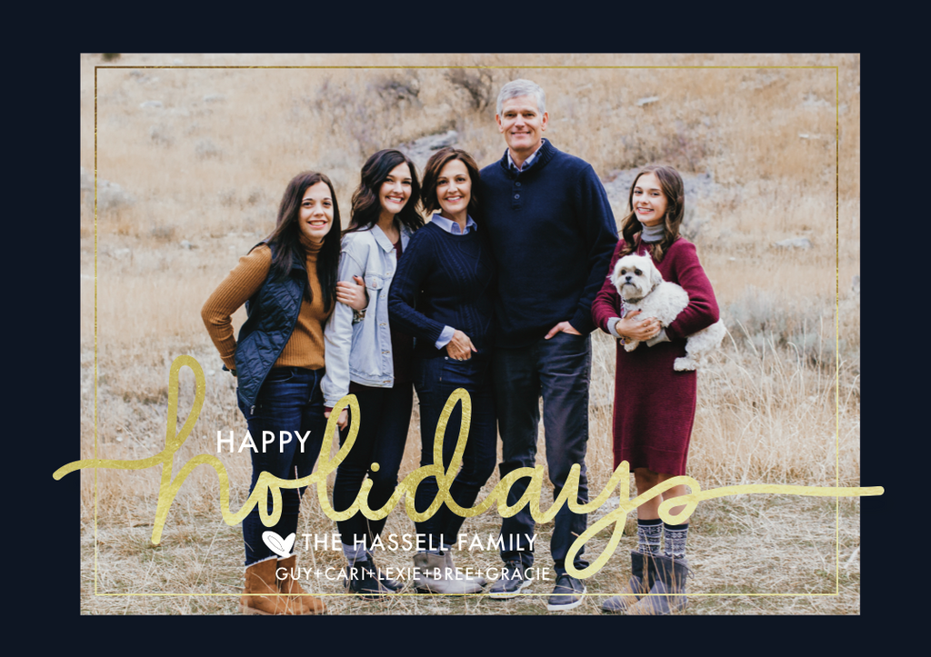 Holiday Card-Merrier Than Ever