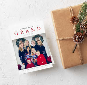 Holiday Card-Grand Christmas