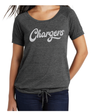 New Era® Ladies Tri-Blend Performance Cinch Tee(LNEA133)