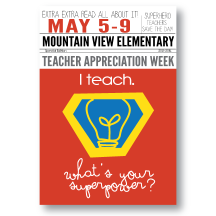 Posters-I Teach-What's Your Superpower?